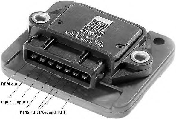 Коммутатор, система зажигания BERU ZM012