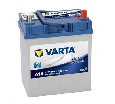 Стартерная аккумуляторная батарея; Стартерная аккумуляторная батарея VARTA 5401260333132