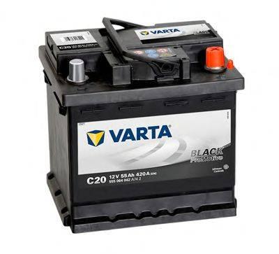Стартерная аккумуляторная батарея; Стартерная аккумуляторная батарея VARTA 555064042A742