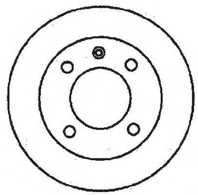 Тормозной диск BENDIX 561146B