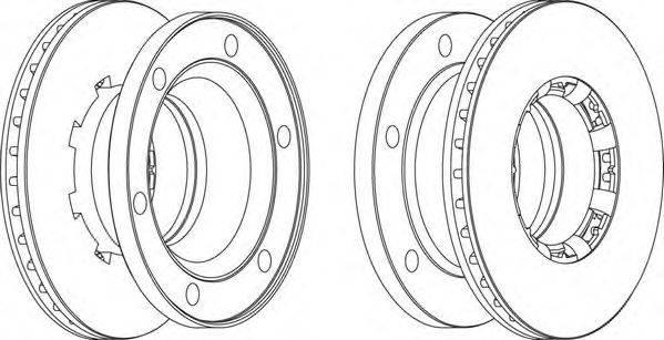 FERODO (НОМЕР: FCR175A) Тормозной диск