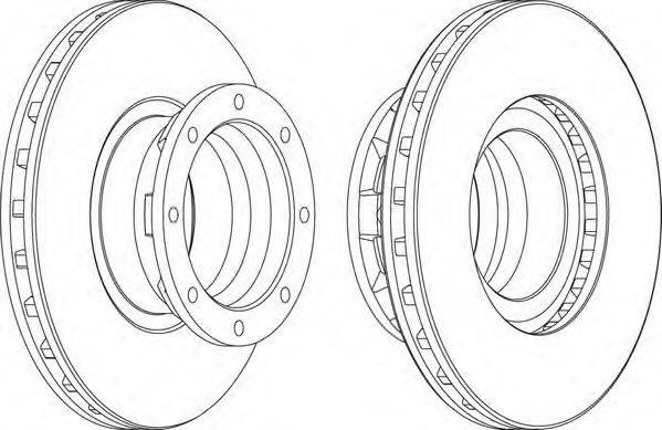 FERODO (НОМЕР: FCR187A) Тормозной диск