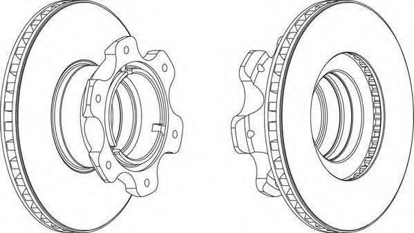 FERODO (НОМЕР: FCR209A) Тормозной диск
