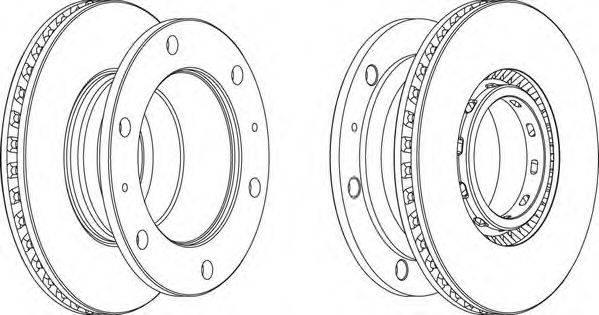 FERODO (НОМЕР: FCR342A) Тормозной диск