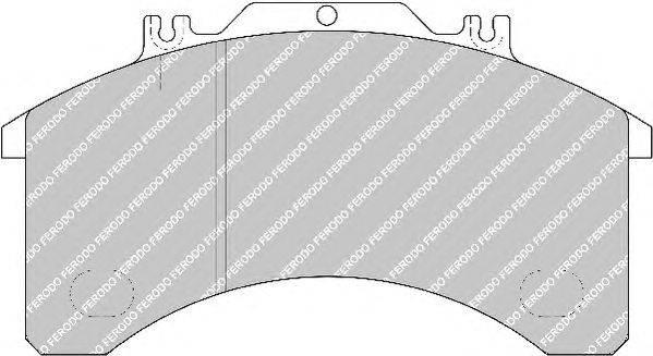 FERODO (НОМЕР: FCV770) Комплект тормозных колодок, дисковый тормоз