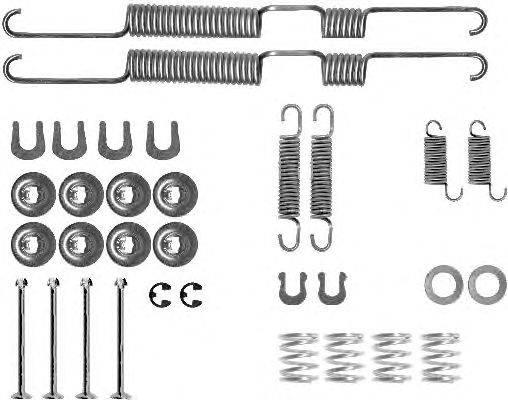 Комплектующие, тормозная колодка MINTEX MBA698