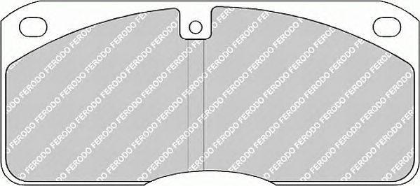 FERODO (НОМЕР: FCV702) Комплект тормозных колодок, дисковый тормоз
