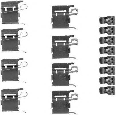 Комплектующие, колодки дискового тормоза MINTEX MBA1748