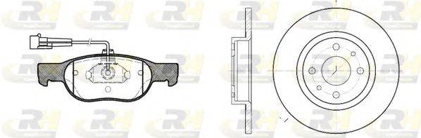 ROADHOUSE (НОМЕР: 8588.00) Комплект тормозов, дисковый тормозной механизм