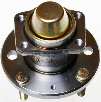 Задняя ступица шевроле лачетти (chevrolet lacetti) crb в сборе с подшипником, с датчиком абс
