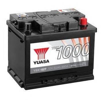 Стартерная аккумуляторная батарея YUASA YBX1027