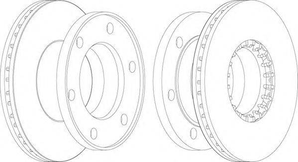 FERODO (НОМЕР: FCR174A) Тормозной диск