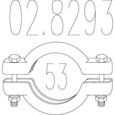 Соединительные элементы, система выпуска MTS 028293
