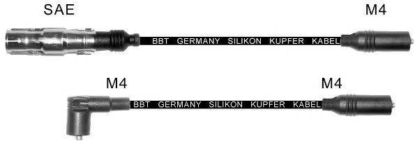 Комплект проводов зажигания BBT ZK381