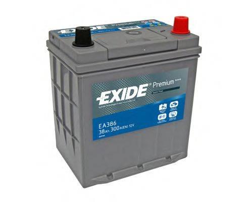 Стартерная аккумуляторная батарея; Стартерная аккумуляторная батарея EXIDE EA386