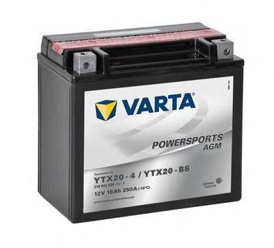 Стартерная аккумуляторная батарея; Стартерная аккумуляторная батарея VARTA 518902026A514