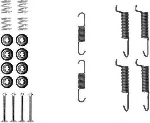 Комплектующие, стояночная тормозная система MINTEX MBA821