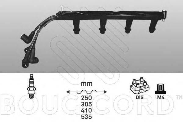Комплект проводов зажигания BOUGICORD 1439
