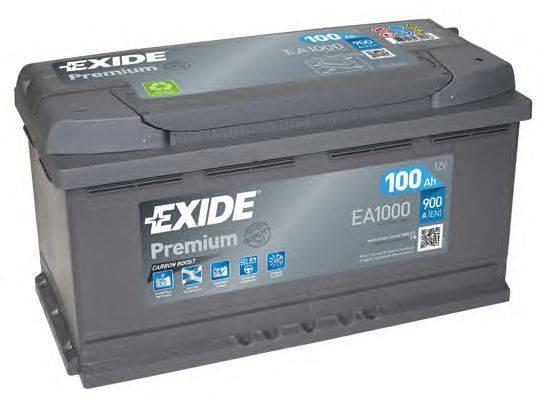 Стартерная аккумуляторная батарея; Стартерная аккумуляторная батарея EXIDE EA1000