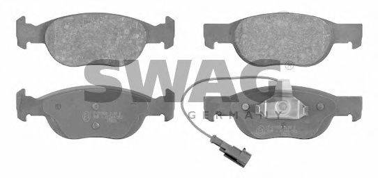 SWAG (НОМЕР: 70 91 6089) Комплект тормозных колодок, дисковый тормоз