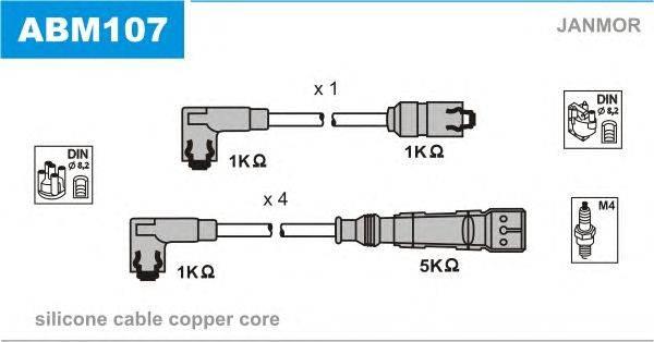 Комплект проводов зажигания JANMOR ABM107