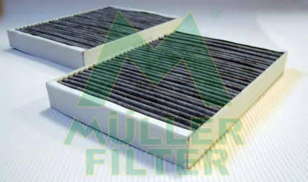 Фильтр, воздух во внутренном пространстве MULLER FILTER FK376x2
