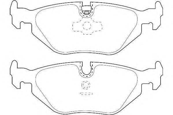Комплект тормозных колодок, дисковый тормоз WAGNER WBP20180A