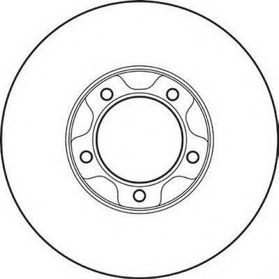 Тормозной диск BENDIX 561308B