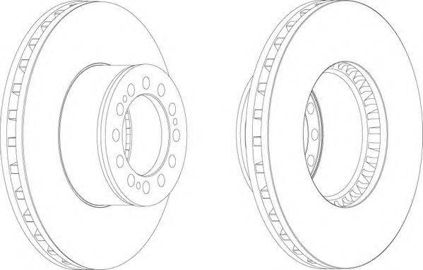 FERODO (НОМЕР: FCR181A) Тормозной диск