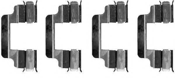 Комплектующие, колодки дискового тормоза MINTEX MBA1230