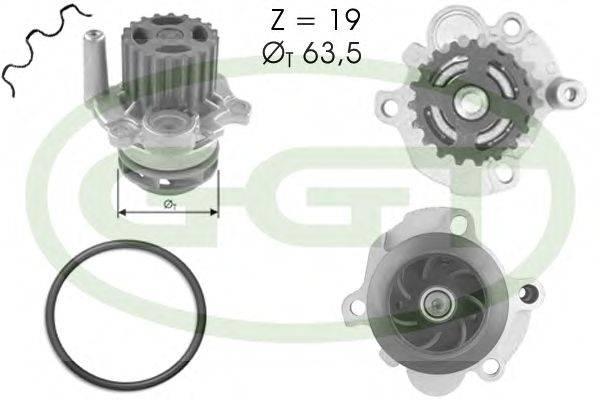 Водяной насос GGT PA12399