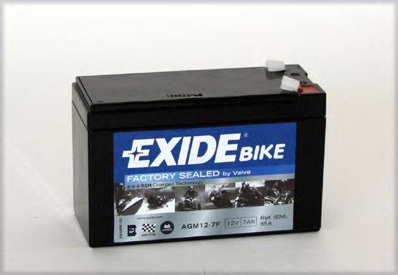 Стартерная аккумуляторная батарея EXIDE AGM12-7F