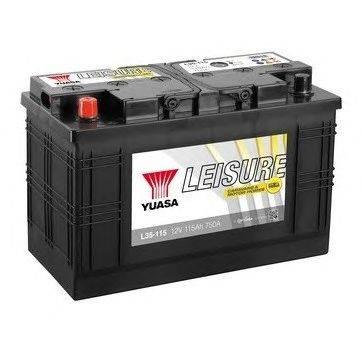 Стартерная аккумуляторная батарея YUASA L35-115
