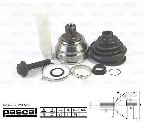 Шарнирный комплект, приводной вал PASCAL G1W009PC