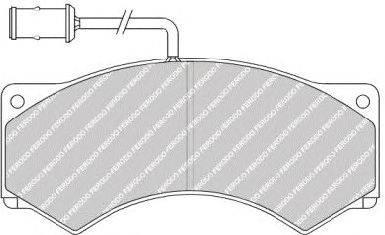FERODO (НОМЕР: FCV503) Комплект тормозных колодок, дисковый тормоз