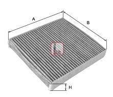 Фильтр, воздух во внутренном пространстве SOFIMA S4159CA