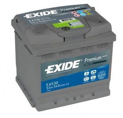Стартерная аккумуляторная батарея; Стартерная аккумуляторная батарея EXIDE EA530