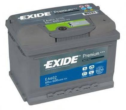 Стартерная аккумуляторная батарея; Стартерная аккумуляторная батарея EXIDE EA612
