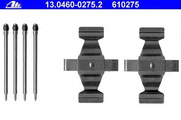 ATE (НОМЕР: 13.0460-0275.2) Комплектующие, колодки дискового тормоза