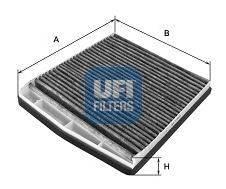 Фильтр, воздух во внутренном пространстве UFI 5412600
