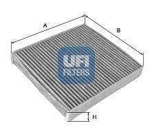 Фильтр, воздух во внутренном пространстве UFI 5415900