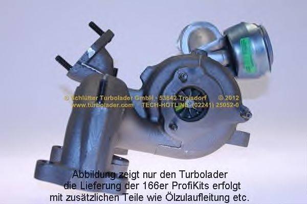 Компрессор, наддув SCHLÜTTER TURBOLADER 166-00180EOL