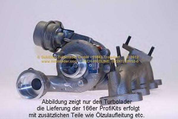 Компрессор, наддув SCHLÜTTER TURBOLADER 166-00280