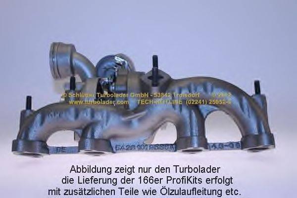 Компрессор, наддув SCHLÜTTER TURBOLADER 166-00320