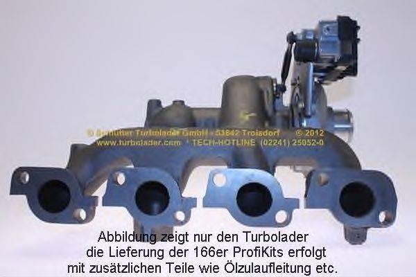 Компрессор, наддув SCHLÜTTER TURBOLADER 166-00735