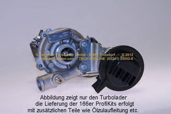 Компрессор, наддув SCHLÜTTER TURBOLADER 166-00775