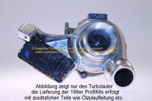 Компрессор, наддув SCHLÜTTER TURBOLADER 166-00920