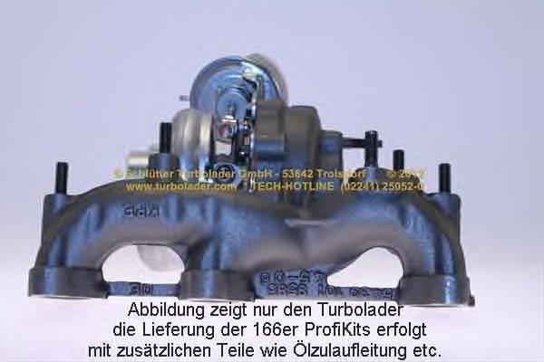 Компрессор, наддув SCHLÜTTER TURBOLADER 166-02480