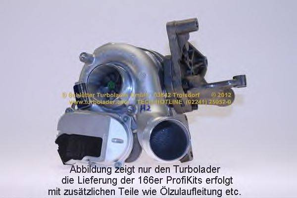 Компрессор, наддув SCHLÜTTER TURBOLADER 166-02540