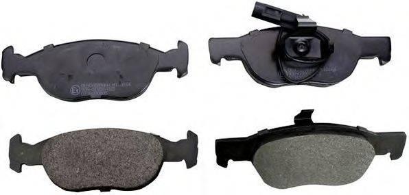 DENCKERMANN (НОМЕР: B110164) Комплект тормозных колодок, дисковый тормоз